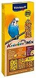 Vitakraft - Kräcker Trio-Mix(Ei-Grassamen/Aprikose-Feige/Honig-Sesam) Sittiche  80 g