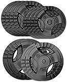 Plaques de Poids en Fonte 90kg Set 28,5mm KAWMET