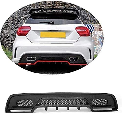 SKNB Für Mercedes Benz A-Klasse W176 Sport A180 A200 A260 A45 Amg 2013 2014 2015 Tuning Carbon Heckstoßstangendiffusor