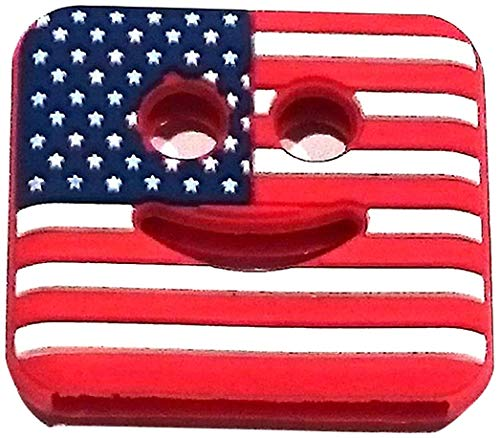 KEYMAX Key Cover, Schlüsselkappe: Form: eckig | Motiv: USA