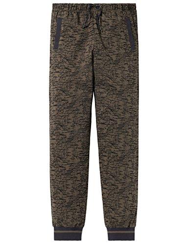 Schiesser Jungen Mix & Relax Jerseypants Schlafanzughose, Grün (Oliv 707), 164 (Herstellergröße: M)