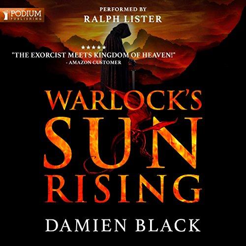 Warlock's Sun Rising audiobook cover art