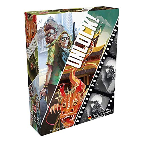 Asmodee Space Cowboys SCOD0047 Unlock - Epic Adventures (Box 7), Kenner-Spiel, Deutsch