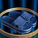 WENHUA Zapatos de baño Zapatos de PlayaZapatos de Playa y Piscina Hombre, Zapatillas de baño de Fondo Grueso Antideslizantes de Interior para Hombre, Mujer, -44-45_Green