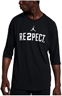 Jordan Men's Derek Jeter Respect Crew Neck T-Shirt