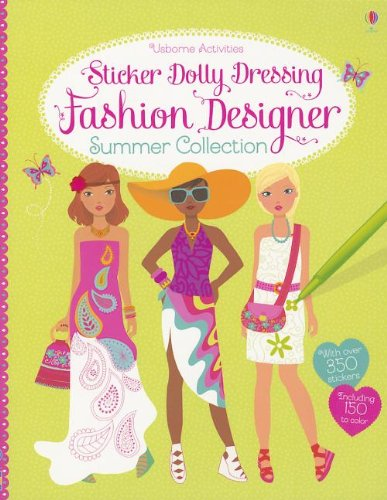 Free Download Fashion Designer Summer Collection Sticker Dolly Dressing Jjegaaai