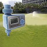 Controlador de riego Simlug, temporizador de riego automático, controlador de riego con retardo de lluvia y control manual