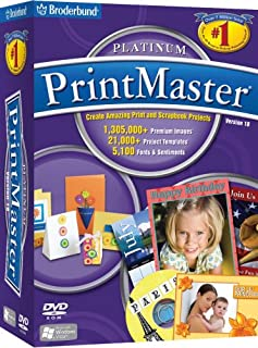 Printmaster - Platinum Version 18 [OLD VERSION]