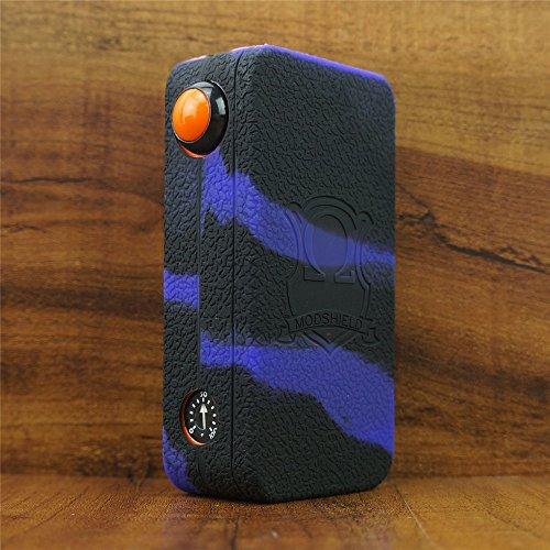 ModShield for HexOhm 3.0 V3 180W Craving Vapor Silicone Case ByJojo Sleeve Cover Wrap Skin (Purple/Black)