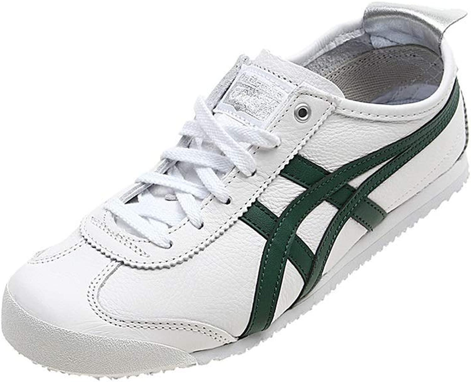 Onitsuka Tiger Mexico 66 Trainers in White Leather