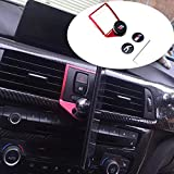 Cssdesign Soporte magnético para teléfono para coche, aleación de aluminio soporte para teléfono móvil para BMW M3 M4 serie F30 F31 F32 F33 F34 F35 F36 F80 F82 accesorios interiores del coche