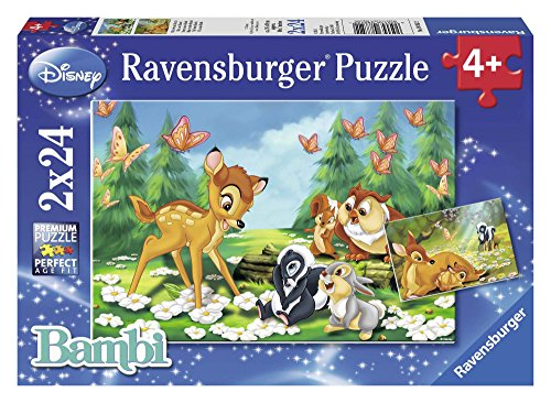 Ravensburger 08852 2 - Animal Friends, Puzzle 2x24 Pezzi