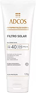 Adcos Filtro Solar Hidratante FPS40 Gel Creme 50g