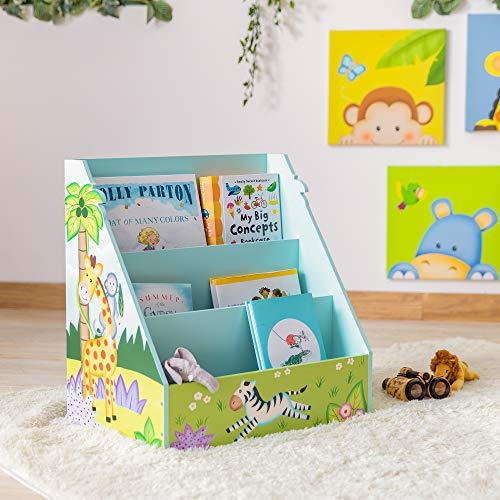 Fantasy Fields Estantería Infantil para Niños Revistero Sunny Safari TD-13141A