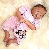 KKI 20' 50cm Reborn Baby Dolls Muñecos Bebé Vinilo Suave Silicona Muñeca Realista Niñas Recién Nacido Regalo de Juguetecertificación EN71