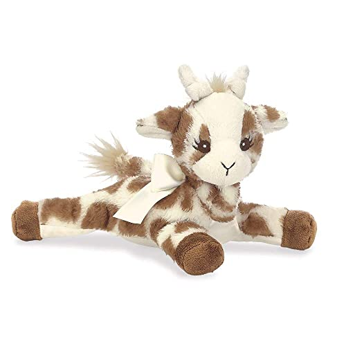 Bearington Baby Patches Plush Stuffed Animal Giraffe with Rattle, 8 inches
