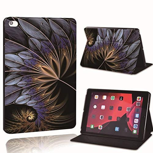 PU Leather Smart Tablet Stand Folio Cover - Ultra-thin Various Feather colors Slim Case For iPad 2 3 4 5 6 /iPad MINI/Air/Pro,Style 8,iPad mini 4 5