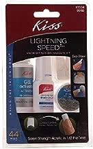 Kiss Lightning Speed Salon Dip Powder Manicure Kit 1 kit