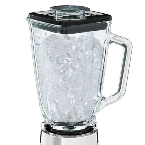 Oster 4093-008 5-Cup Glass Jar 2-Speed Beehive Blender, Brushed Stainless