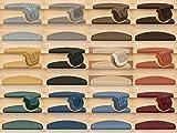 Kettelservice-Metzker Stufenmatten Treppen-Teppich Rambo 15er SparSet 17 Farben incl. Fleckentferner (Beige) - 4