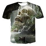 SSBZYES Camiseta para Hombre Camiseta de Verano de Manga Corta para Hombre Camiseta de Gran tamaño para...
