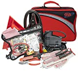 Lifeline 4388AAA AAA Excursion Road, 76-Piece Car Air Compressor, Jumper Cables, Flashlight and First Aid Kit