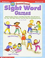 40 Sensational Sight Word Games