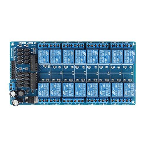 SainSmart® 16-Channel 12V Relay Module for Arduino UNO MEGA R3 Mega2560 Duemilanove Nano Robot