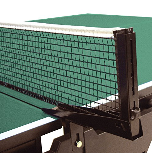 Sport-Thieme Ersatz Tischtennisnetz ohne Halterung| Für Indoor u. Outdoor | Aus robustem Textilgewebe | Länge: 180 cm | Schwarz | Markenqualität