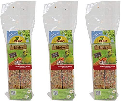Birdy's klimpack parkiet honing oesterschelp wortelen mix 130 gr per 3 stuks