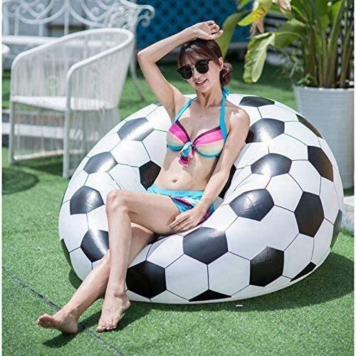 Voetbal Opblaasbare Sofa Voetbal Air Lounge Chair Basketball zitzak Lounger PVC Inflatables Furniture Garden Home Office leilims