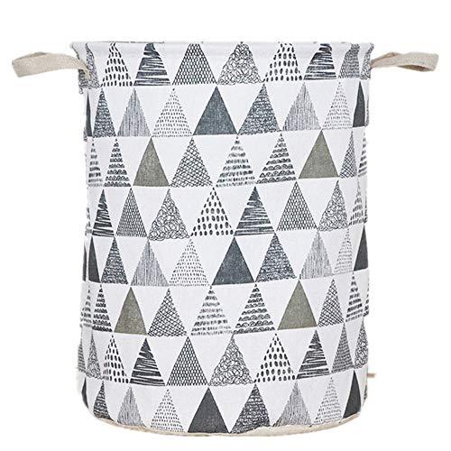 WUJIANCHAO Large Capacity Clothes Storage Bag Clothing Laundry Basket Bag Folding Laundry Basket Children Toy Storage Bucket Waterproof