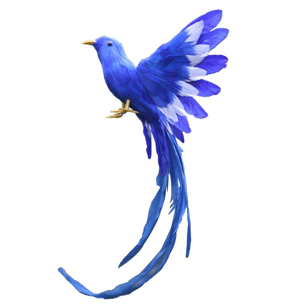 Lifelike Artificial Feathered Birds Garden Home Decor Xmas Tree Ornament b