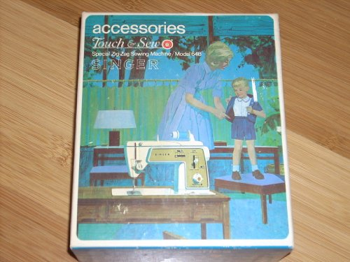 Vintage Authentic SINGER Accessories Box (Part No. 171128) for SINGER Touch & Sew Special Zig-Zag Sewing Machine Model 648 - Over 20 original pieces!!!