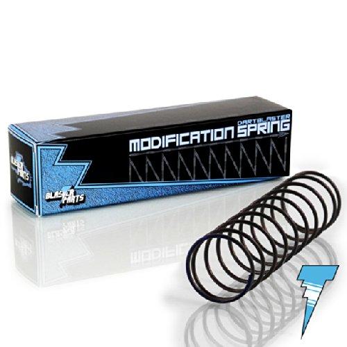 Blasterparts - Tuning-Feder passend für Nerf N-Strike Longstrike CS-6 - Dartblaster Modding für Mehr Reichweite und Schnelle Darts - Blaster-Tuning & Zubehör