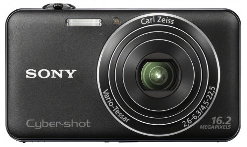 Sony Cyber-shot DSC-WX50 Digitalkamera (16,2 MP, 5-fach optischer Zoom, 6,9 cm (2,7 Zoll) LCD), Schwarz