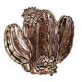 DOITOOL Schmucktablett aus Kunstharz, Kaktus-Form, Vintage-Stil, für Snacks, Kuchen, Nüsse,...