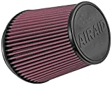 Airaid 700-462TDR Racing Air Filter: Oval Tapered; 6 in (152 mm) Flange ID; 7 in (178 mm) Height; 7.25 in (184 mm) Base; 5 in (127 mm) Top
