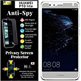 Agrado [4way 360° Anti Spy] Privacy Screen Protector Film folie [Blocks 53prozent of Blue Light] Compatible with (Huawei P10 Light)