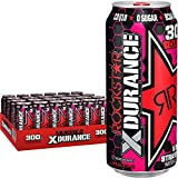 Rockstar Energy Drink, Xdurance Kiwi Strawberry, 16 Fl Oz (Pack of 24)