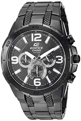 Reloj Casio Edifice para Hombres 48mm, pulsera de Acero Inoxidable