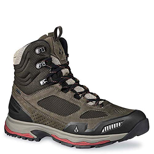 Vasque Men's Breeze at Mid GTX Hiking Boot, Brown Olive, 7.5