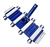 Pool Professional Swimming Pool Vacuum Head Cleaner | 14 inch Flexible Weighted
