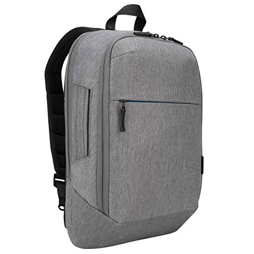 Targus CityLite mochila Grey - Mochila para portátiles y netbooks (Grey, Monotone, 300 D,...