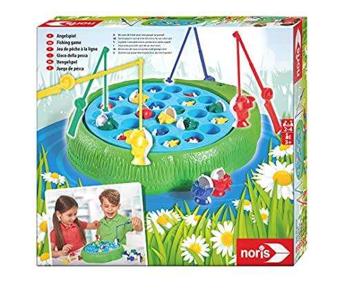 Noris 606066956 Angelspiel, Wer Zuerst alle Fische...