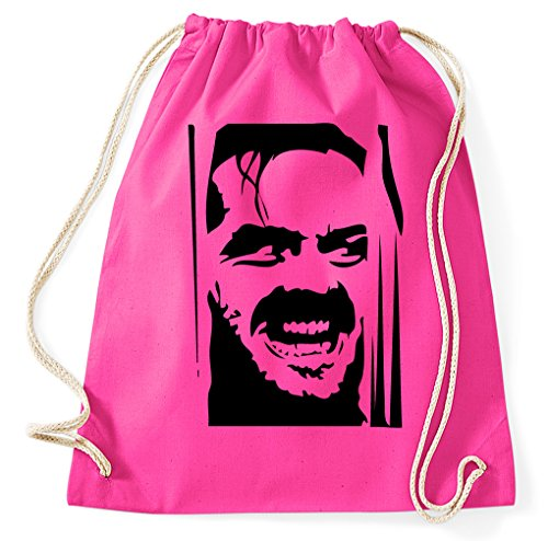 Styletex23 The Shining Jack Nicholson Turnbeutel Sportbeutel, pink