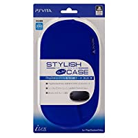 【PlayStationオフィシャルライセンス商品】PSVita専用収納ポーチ『スタイリッシュスリムケース (ブルー) 』for PlayStation Vita