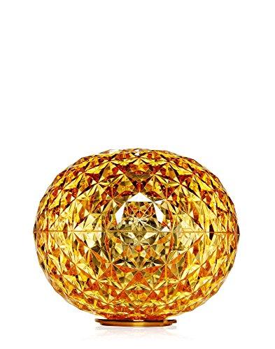 Kartell Planet - Lampada da Tavolo Tokujin Yoshioka, Colore: Giallo