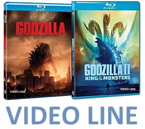 Godzilla 1-2: King Of The Monsters (2 Film Blu Ray) Edizione Italiana