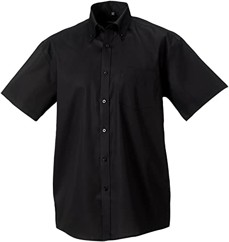 Russell Collection hommeches courtes ultime chemise sans repassage
